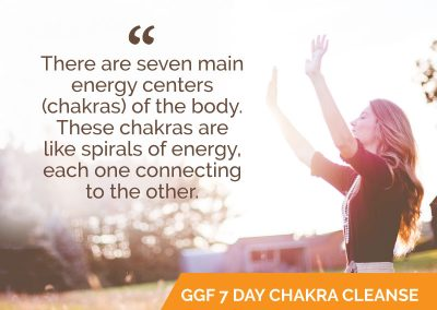 Go Green Fashionista 7 Day Chakra Cleanse